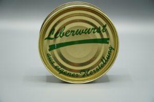 Leberwurst Dose