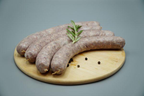Wildschwein Bratwurst